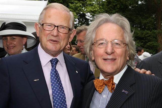 De Nationale Haringparty: prof. mr. Pieter van Vollenhoven en prof. Anton van der Geld