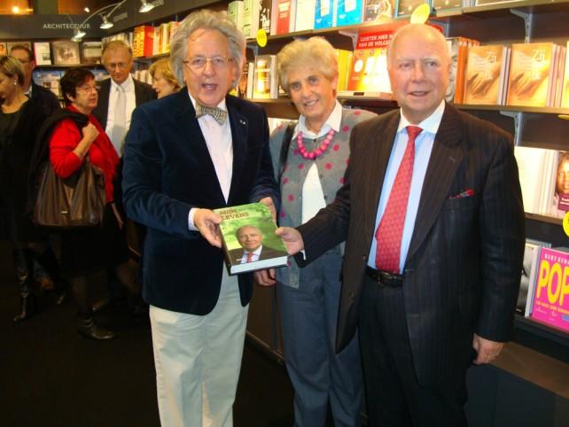 Boekenbeurs Antwerpen met staatsminister Mark Eyskens en lady Anne