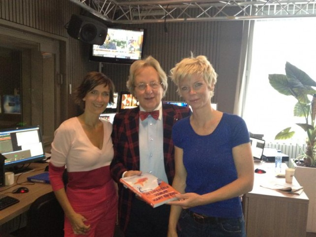 v.l.n.r. Anja Daems, Anton van der Geld, Ilse Van Hoecke