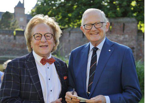 BUC-bespreking: prof. Mr. Pieter van Vollenhoven en prof. Anton van der Geld. BeNeLux News